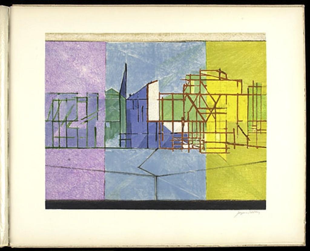 Le Long du parc, du livre illustré «Jacques Villon»