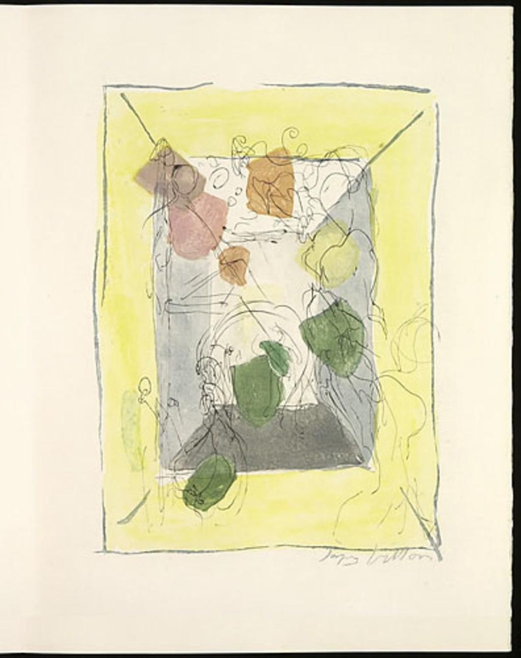 Sans titre, du livre d'artiste «Les Frontières du matin»