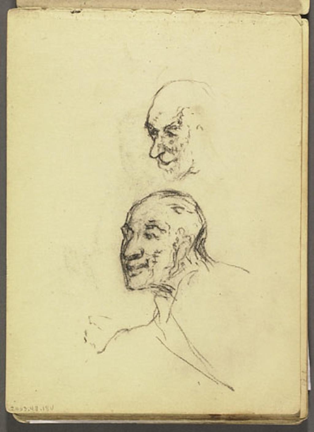 Portraits d'hommes