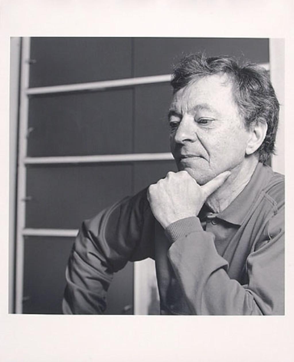 Roland Giguère, lauréat du prix Paul-Émile-Borduas 1982