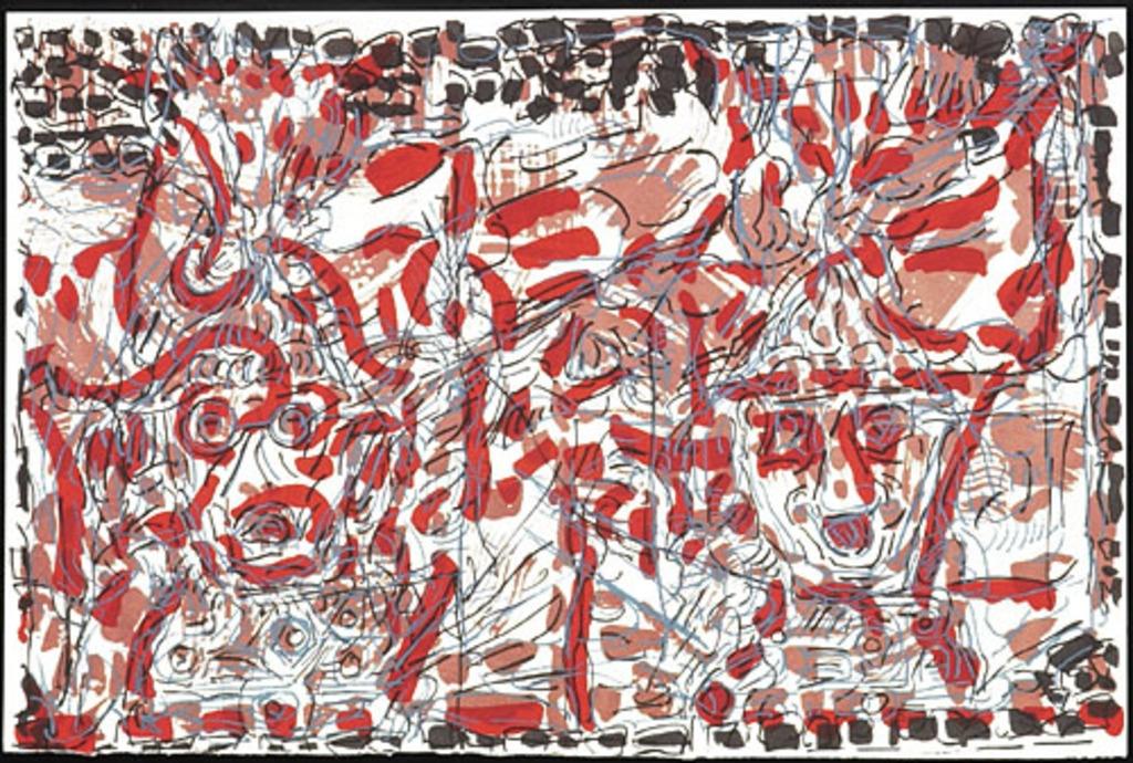 Sans titre, du livre d'artiste «Unearth»