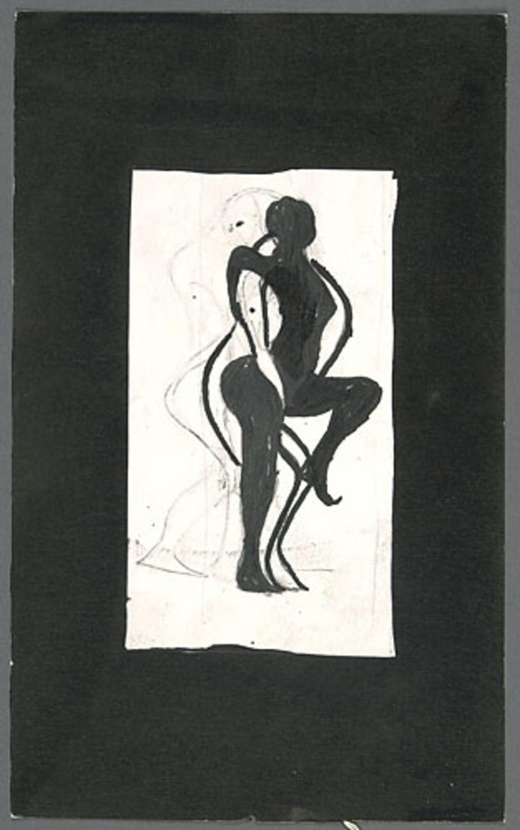 Étude pour « Positions essentielles pour faire l'amour »