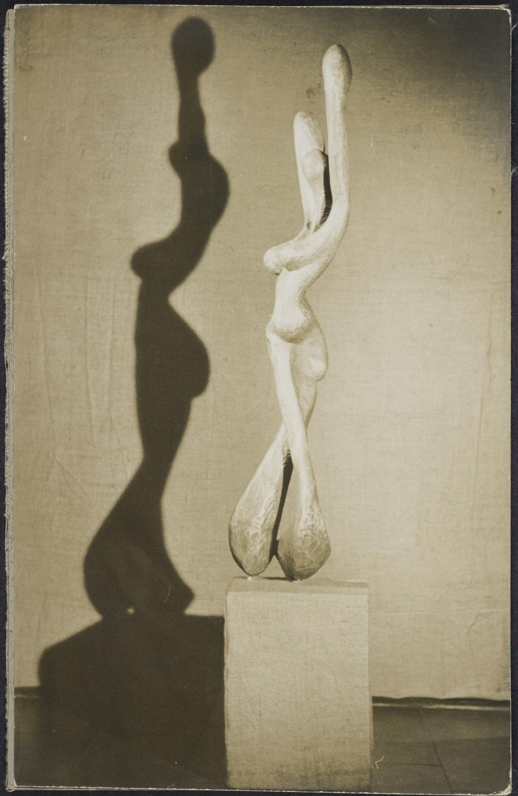 « Femme qui danse », 1953 (sculpture de Robert Roussil)