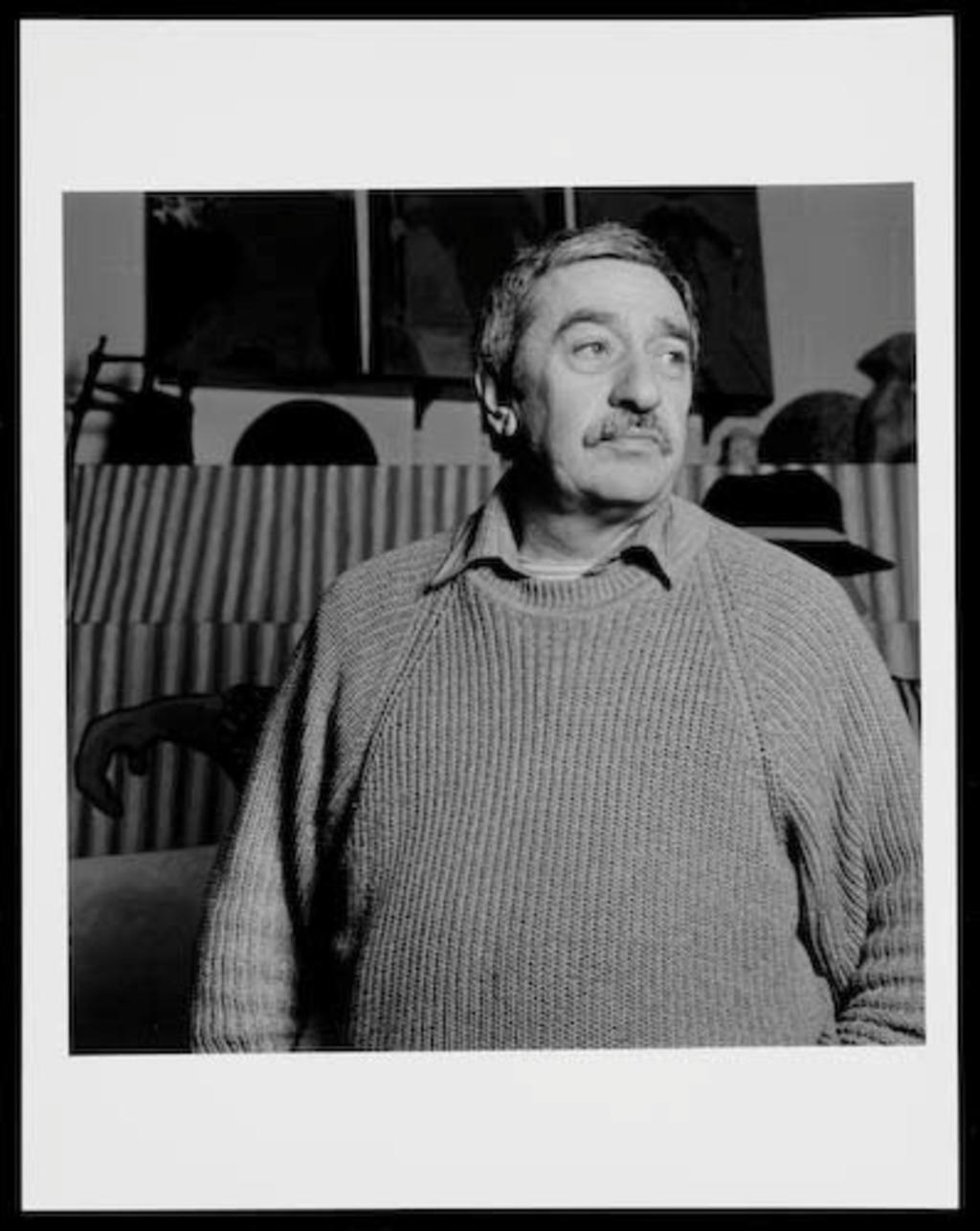Ulysse Comtois, lauréat du prix Paul-Émile-Borduas 1978