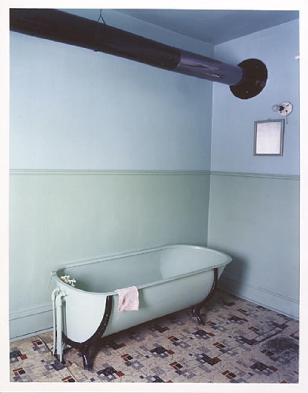 Salle de bain chez les Houde, Lotbinière
