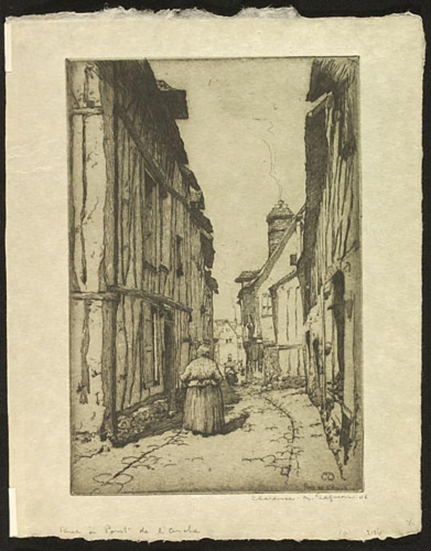 Rue à Pont-de-l'Arche