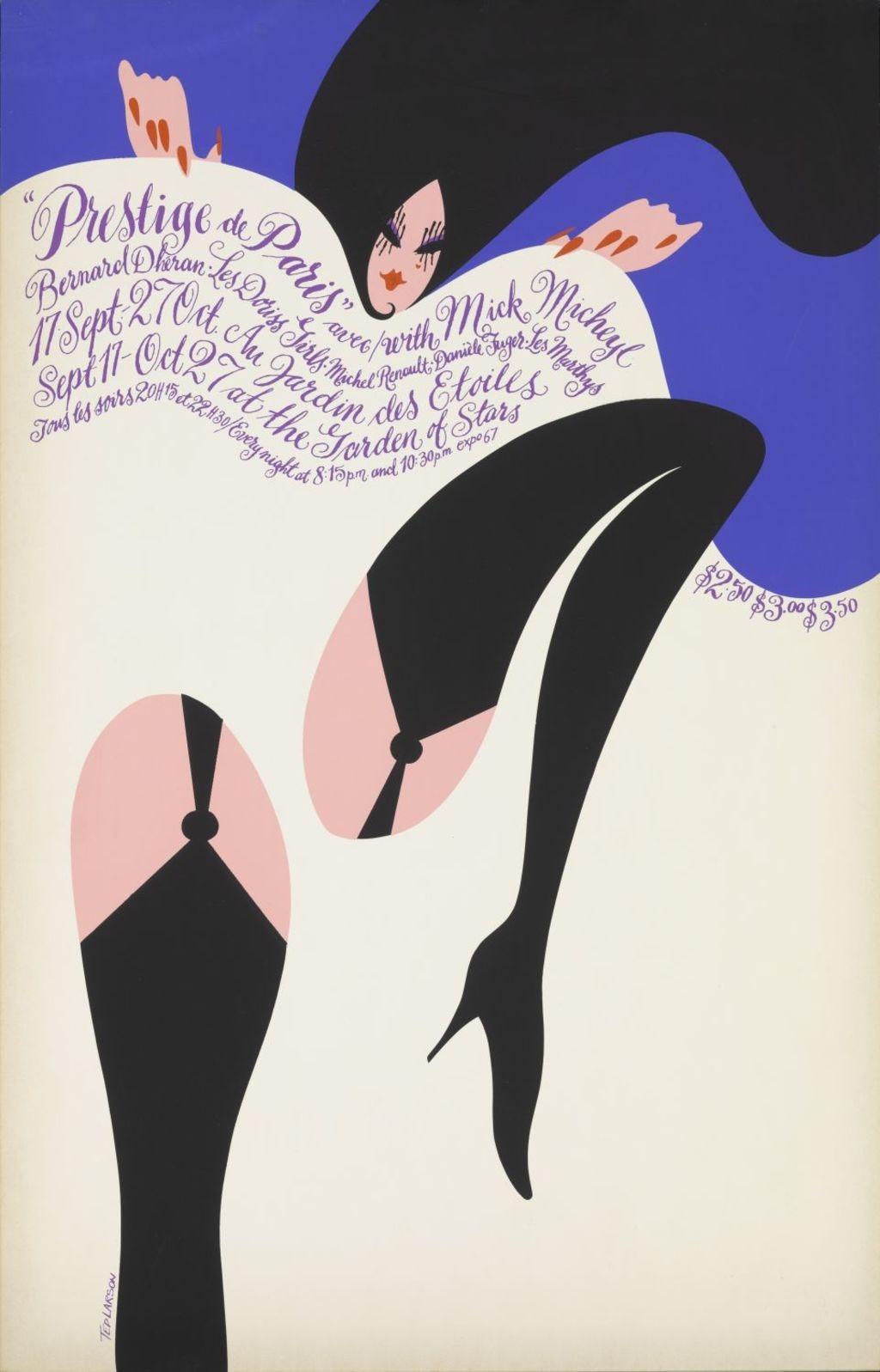 Affiche « Prestige de Paris » (Expo 67)
