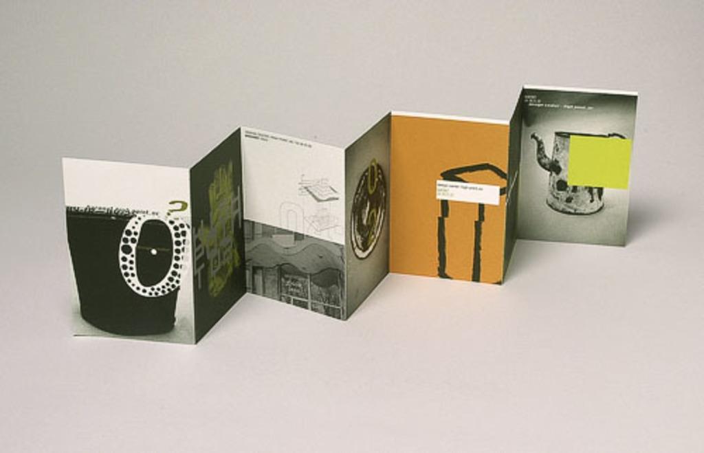 Cartons d'invitation (7) pour la collection Baronet au High Point International Home Furnishings Market, Caroline du Nord