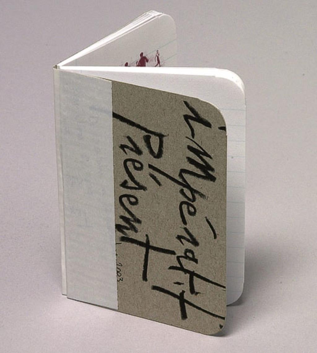 Brochure pour la pièce «L'Impératif présent »