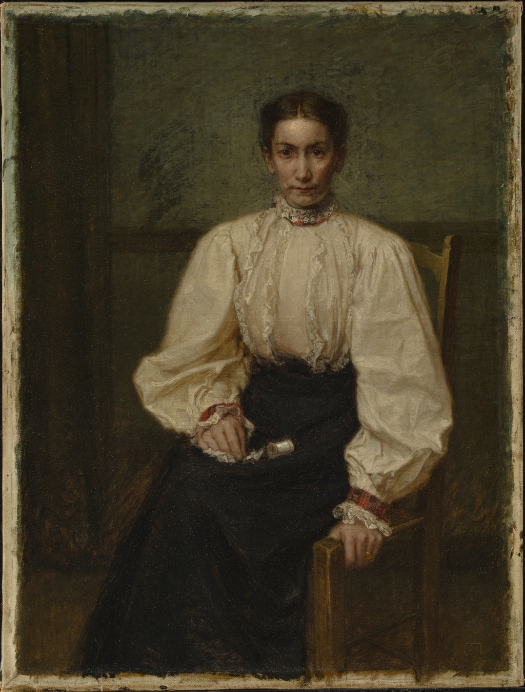 Madame Ernest Lebrun, née Adélia Leduc, soeur de l'artiste