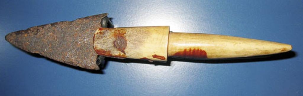 Tête de harpon avec tête en métal