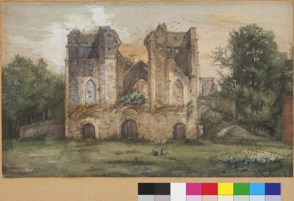 Les Ruines de l'abbaye de Villers-la-Ville, Belgique
