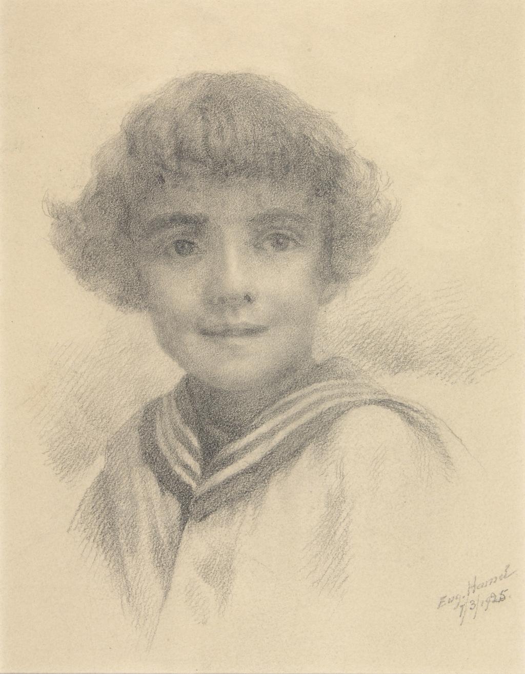 Pierre-E. Hamel, petit-fils de l'artiste