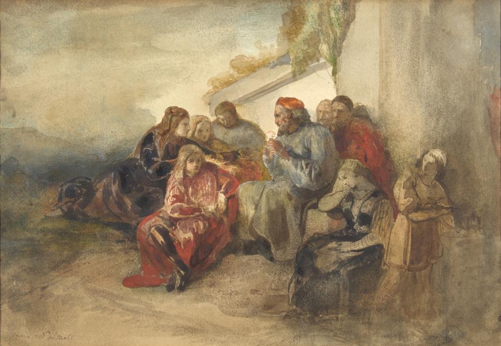 Scène orientale