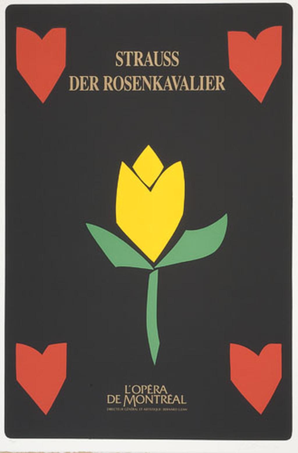 Affiche «Der Rosenkavalier de Richard Strauss», de l'album L'Opéra par Vittorio
