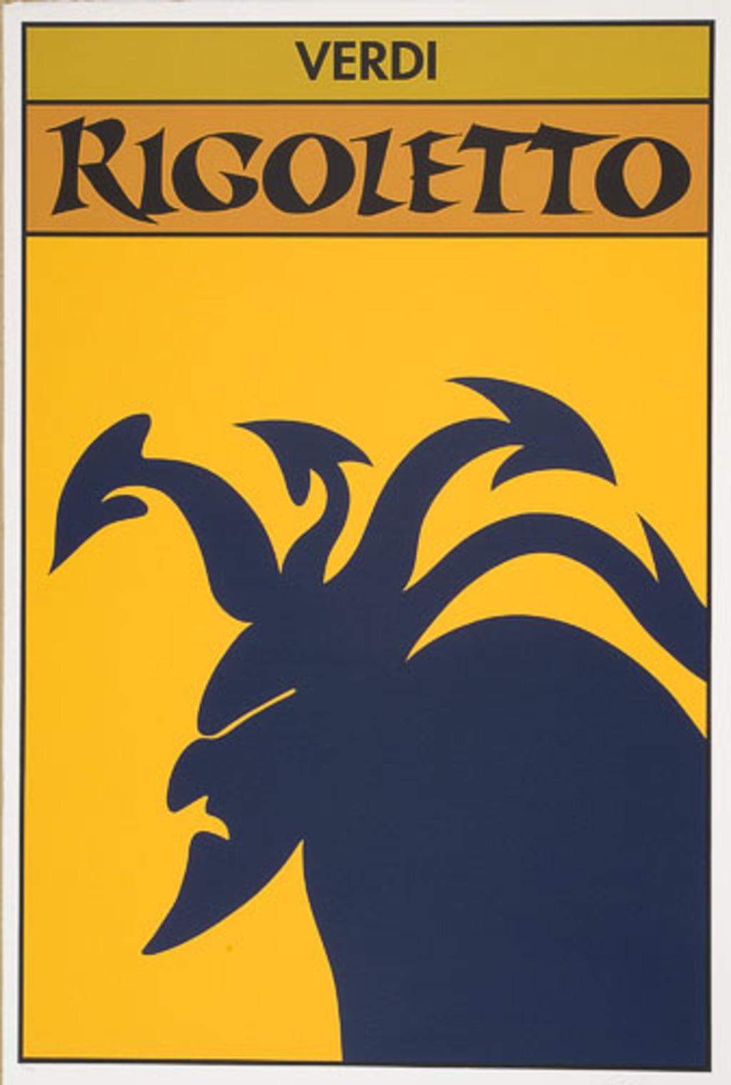 Affiche «Verdi : Rigoletto», de l'album L'Opéra par Vittorio