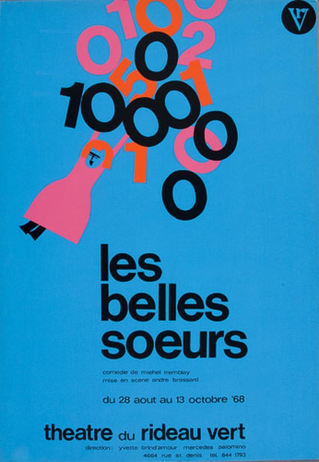 Affiche « Les Belles-soeurs »