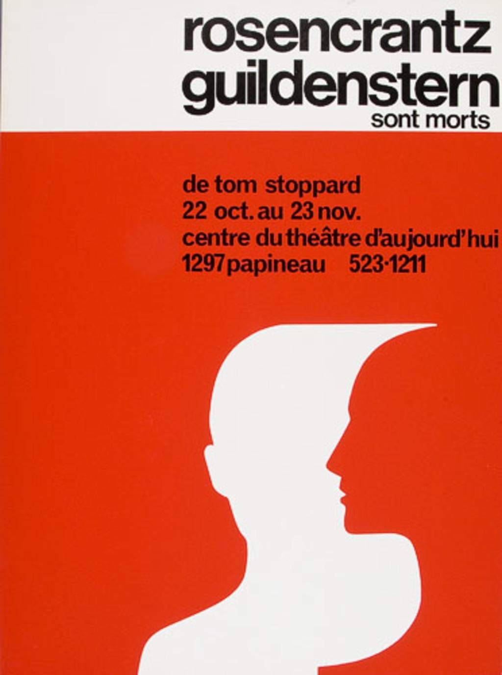 Rosencrantz Guildenstern sont morts