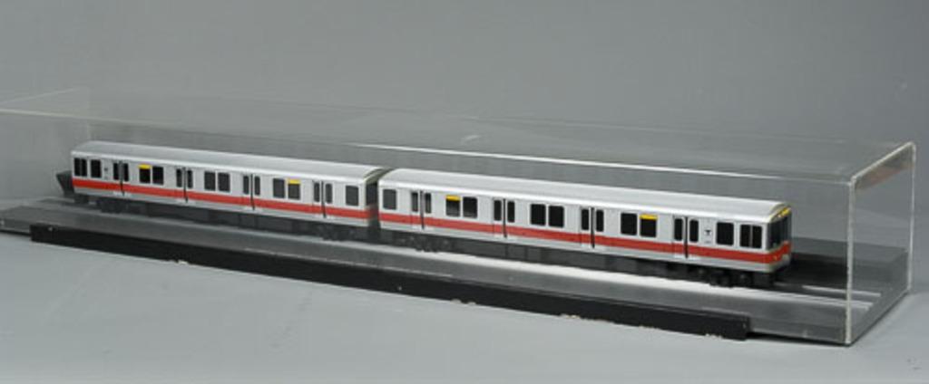 Maquette du métro « Red Line Rapid Transit, Boston Subway »