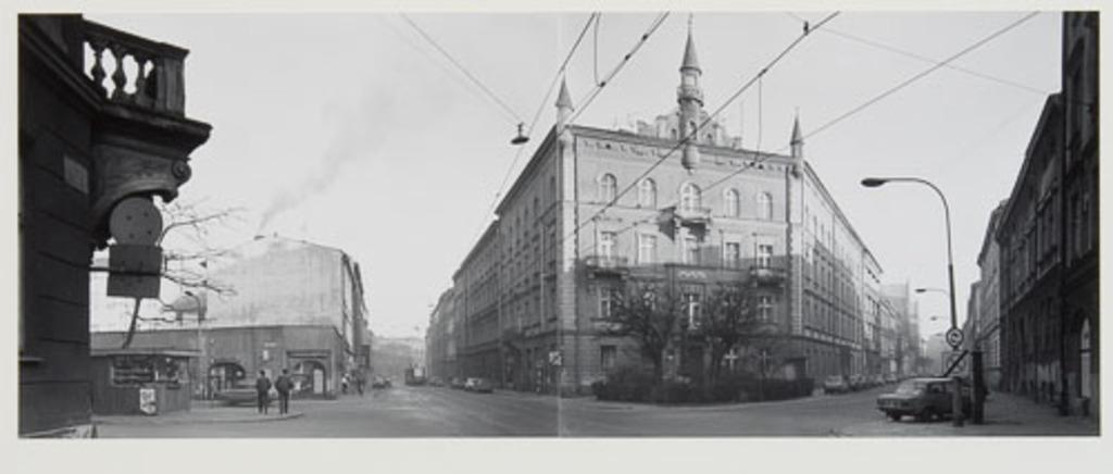 Dluga - Pedzichów, de la série Panoramas de Cracovie (1990)