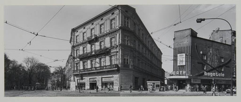 Podwale - Krupnicza - Karmelicka, de la série Panoramas de Cracovie (1990)
