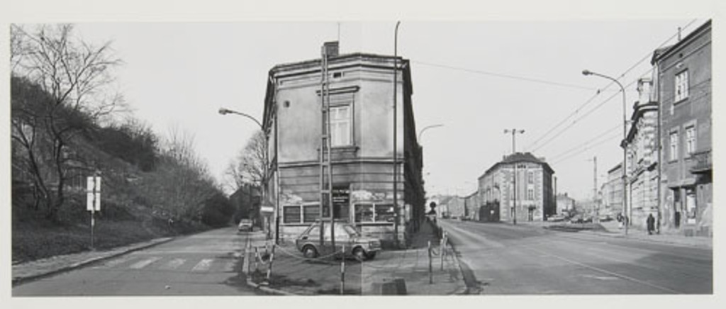 Rekawka - Limanowskiego - Lwowska, de la série Panoramas de Cracovie (1990)