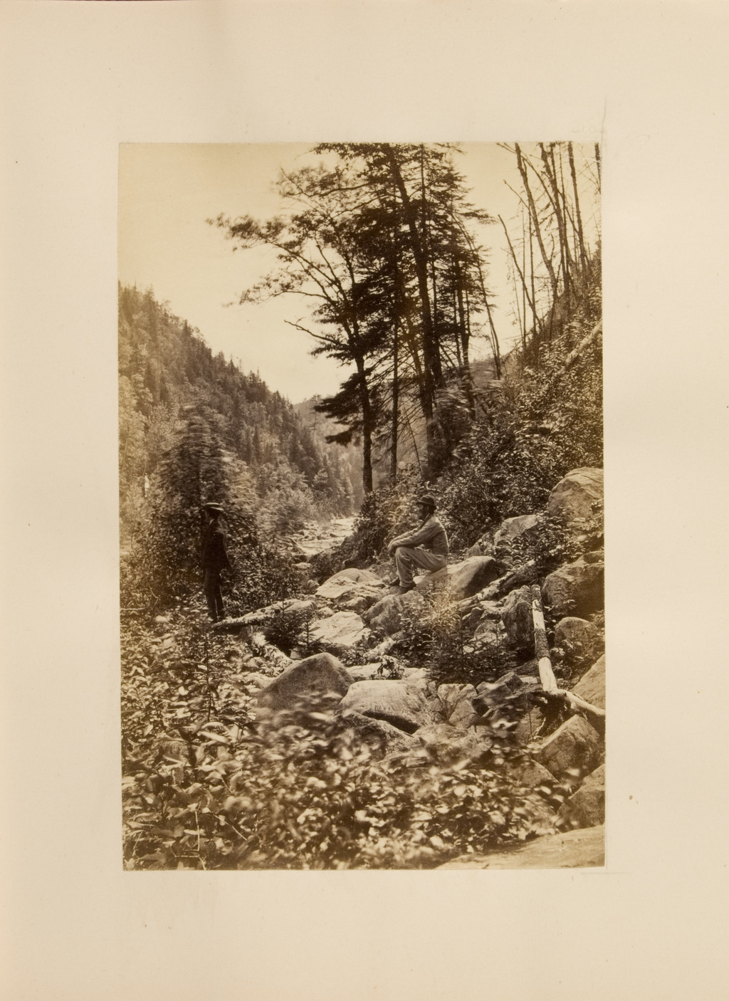 Un ravin en direction des Sept Chutes, Saint-Ferréol, de l'album SCRAPS
