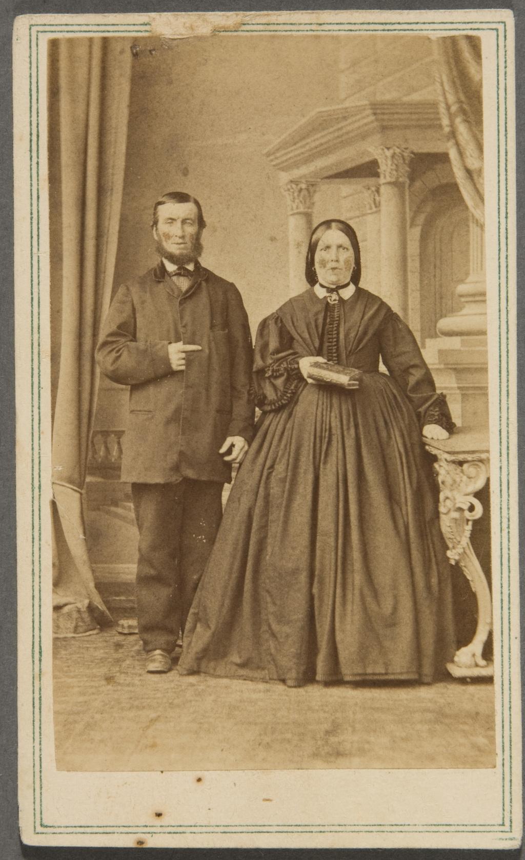Isidore Bégin et son épouse, née Olive Bourget