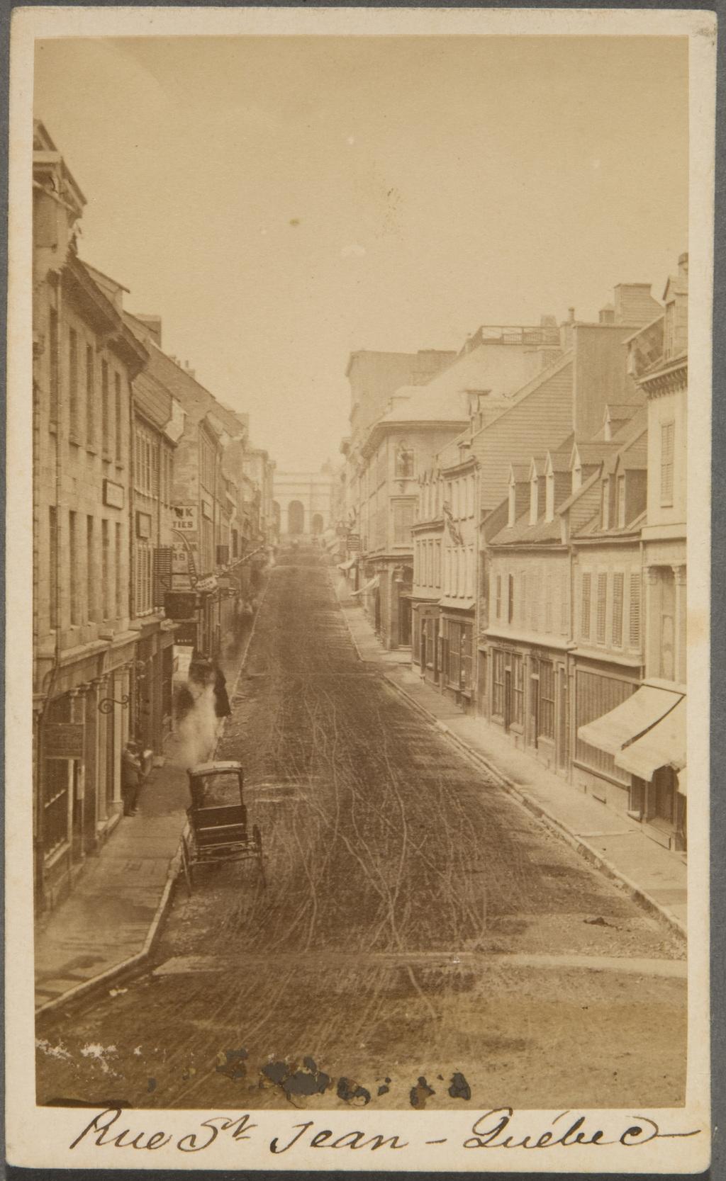 La Rue Saint-Jean, Québec