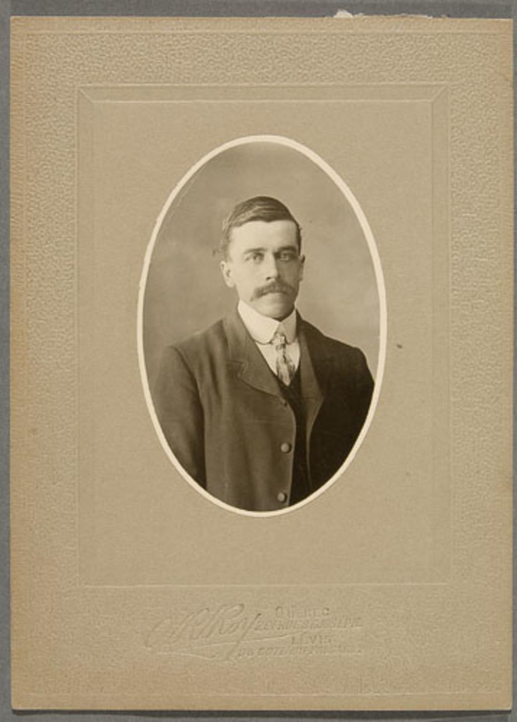 Portrait d'homme
