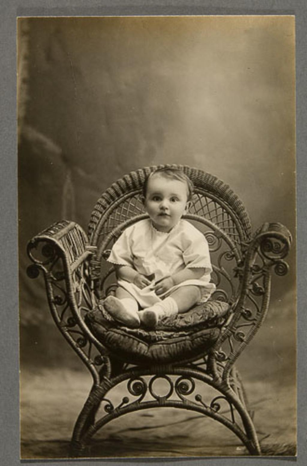 Portrait de bébé (Louis)
