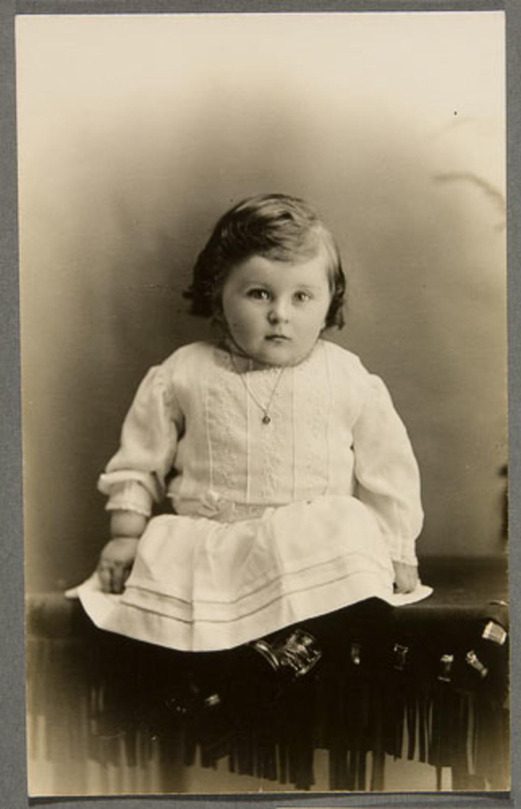 Joseph-Arthur Laurent, bébé