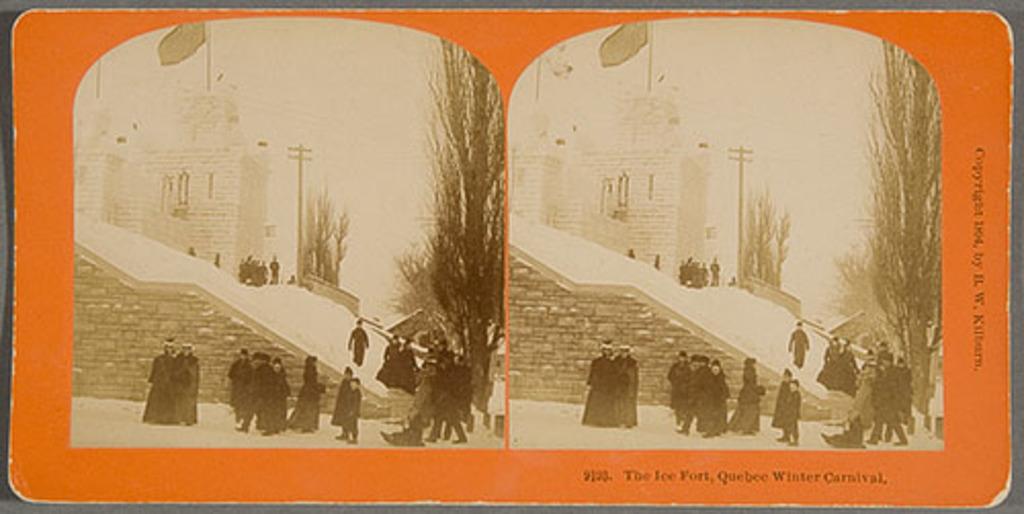 Le Fort de glace à la porte Saint-Louis, Carnaval de Québec