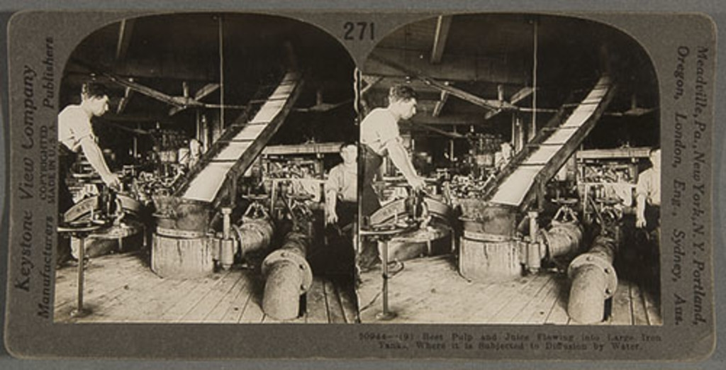 La Production de sucre de betterave, Montréal