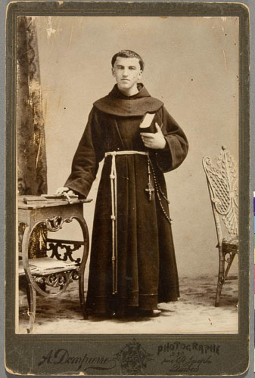 Portrait de Franciscain