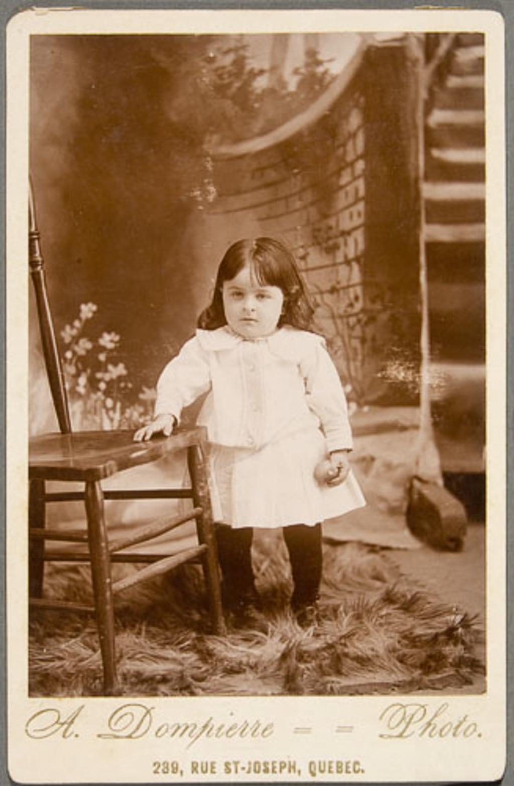 Émile Marcoux, enfant