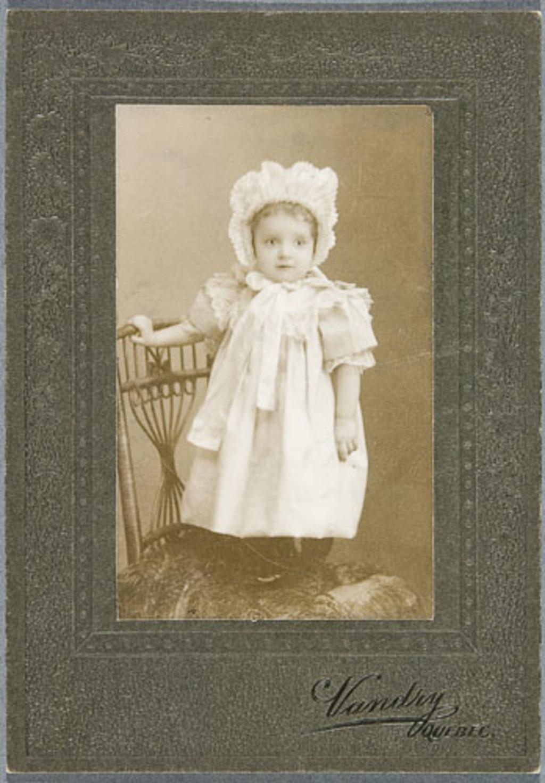 Anne-Marie Talbot, enfant