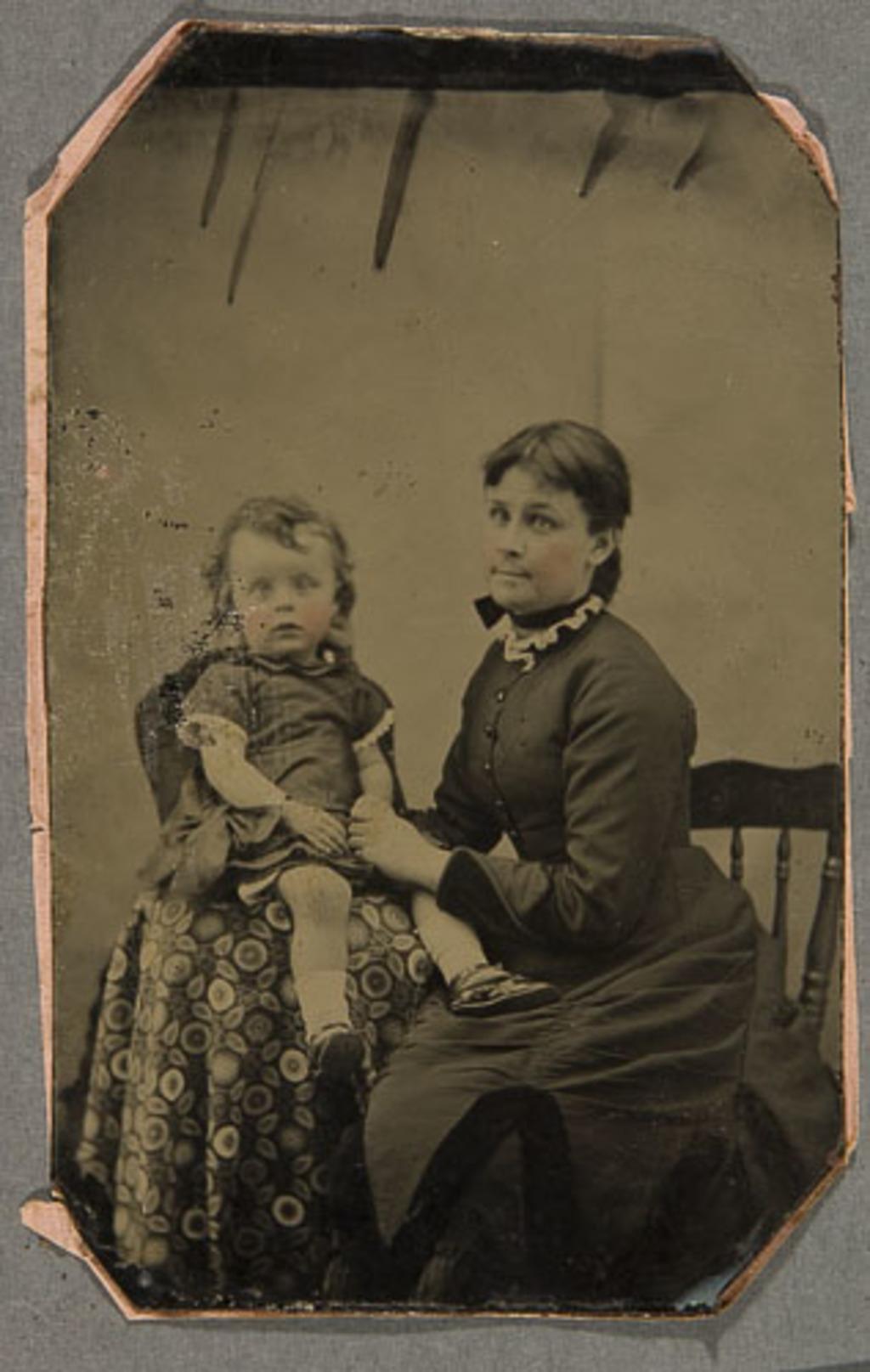 Portrait de femme et son enfant