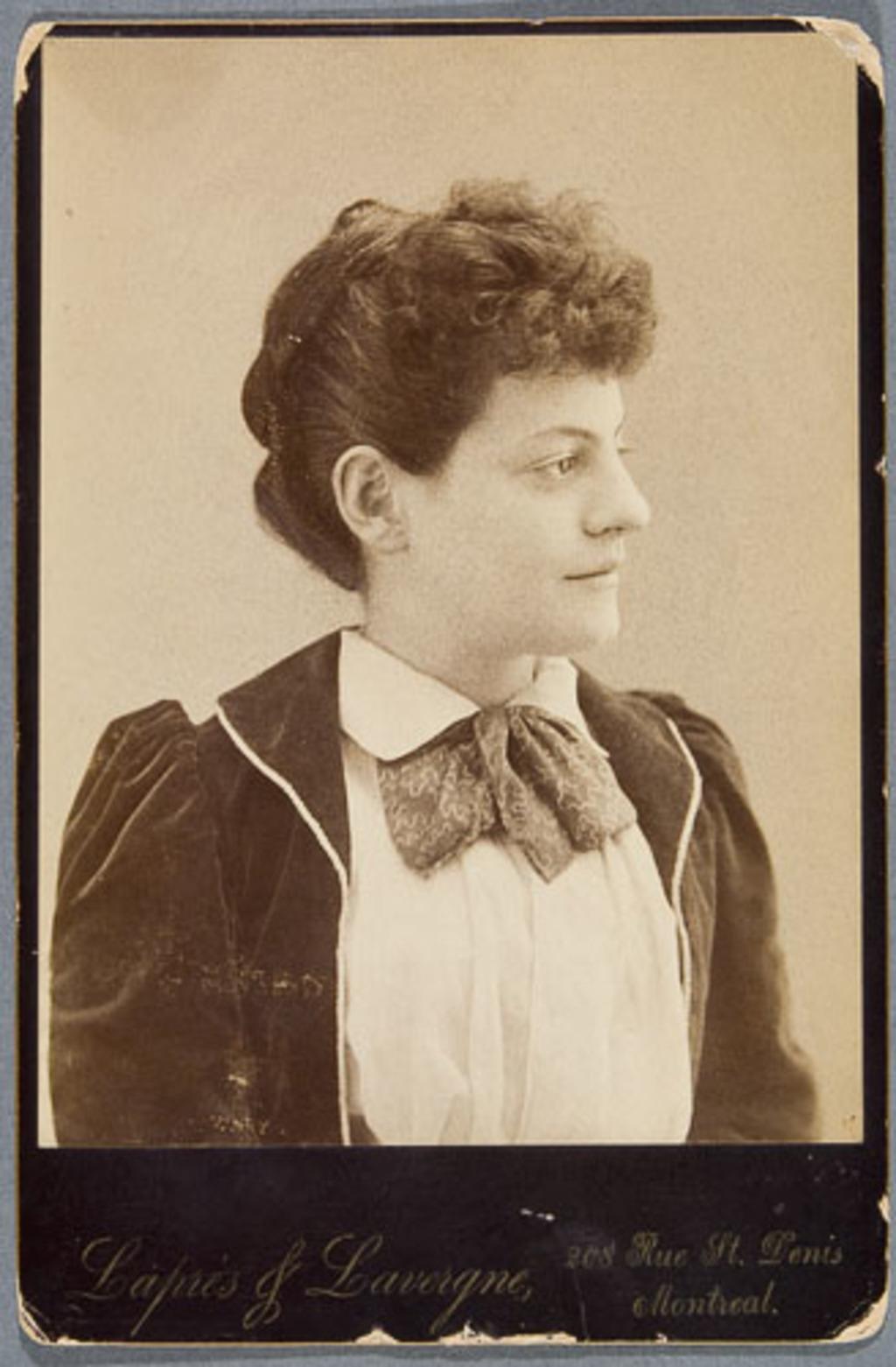 Madame Blondin, née Berthe Pépin