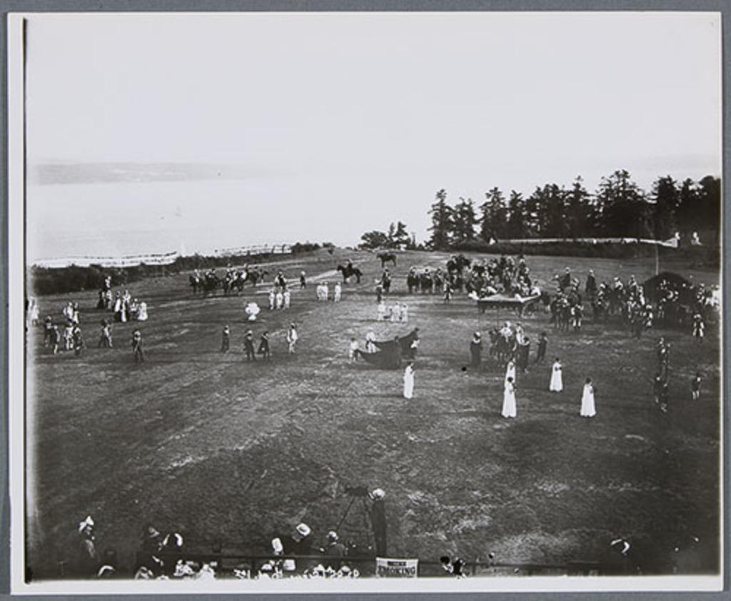Premier Spectacle historique, scène 2 : Jacques Cartier à Fontainebleau, tricentenaire de Québec