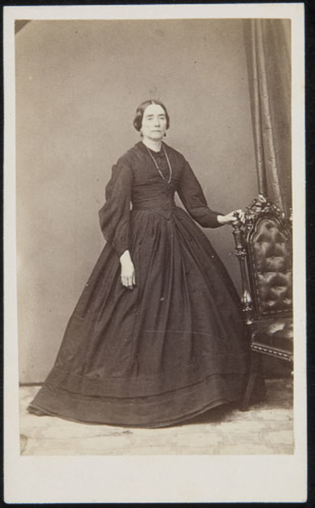 Portrait de femme, d'un album de famille