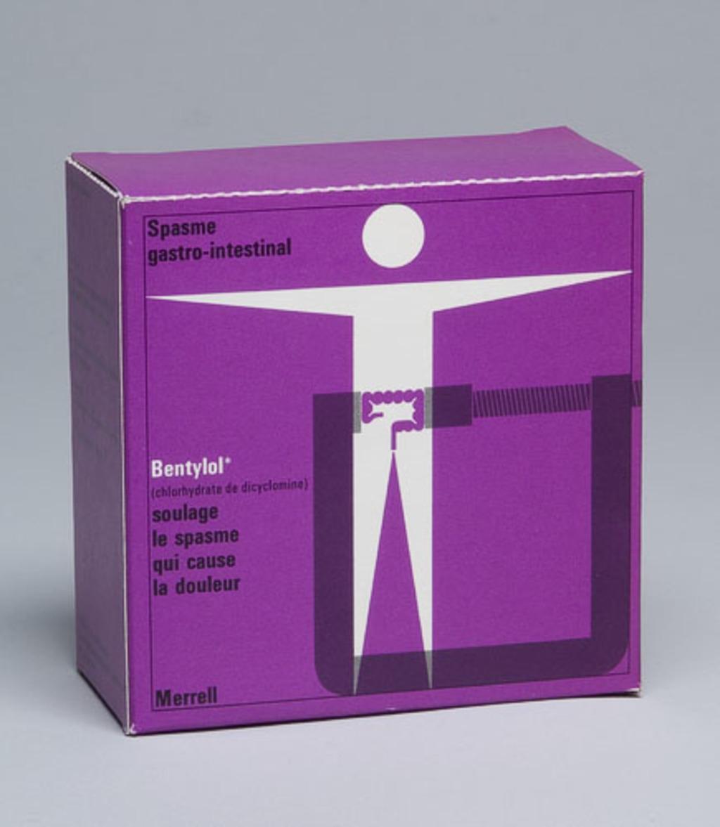 Boîte à échantillon médical « Bentylol »