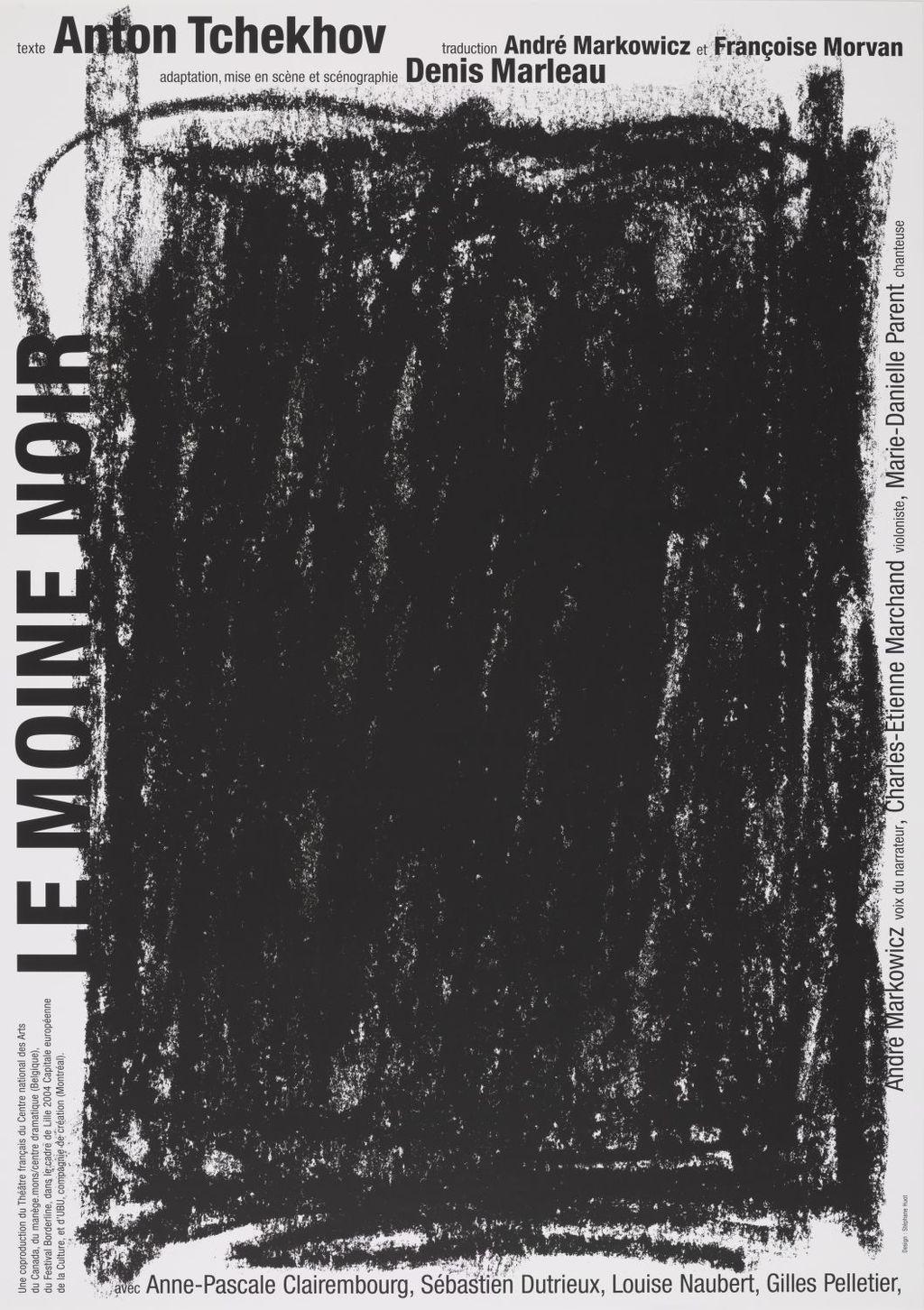 Affiche « Anton Tchekhov : Le Moine noir »