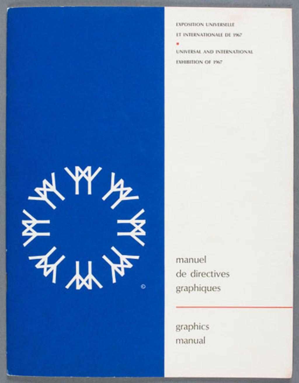 Manuel de directives graphiques pour le logo de l'Expo 67