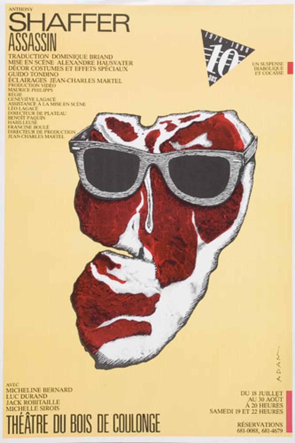 Affiche « Shaffer : Assassin »