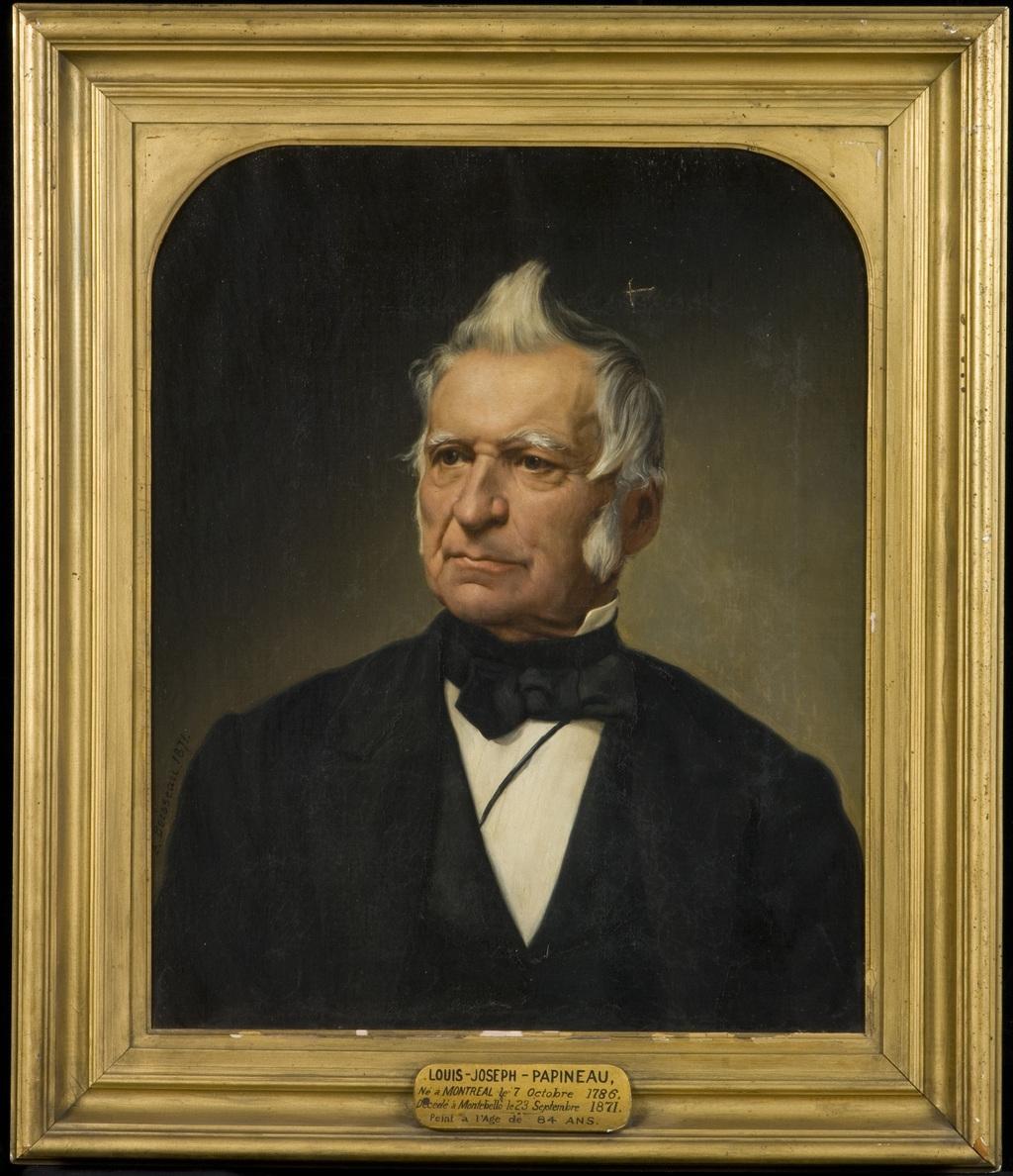 Louis-Joseph Papineau. D'après une photographie