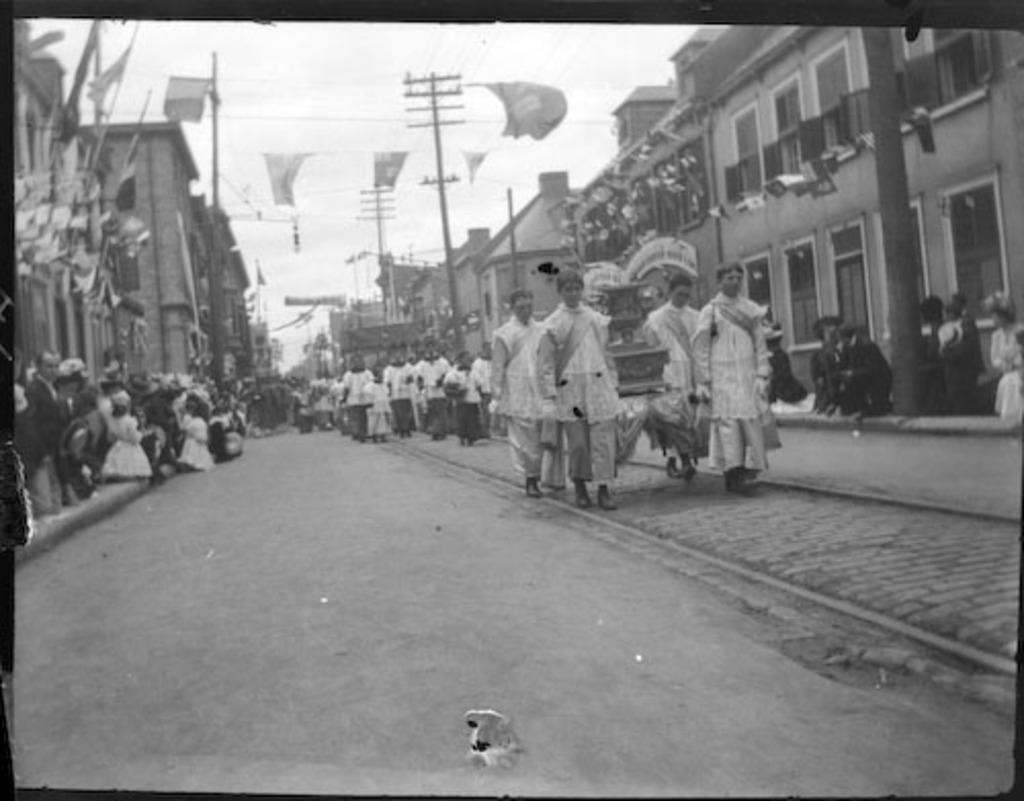 Procession de la Fête-Dieu, tricentenaire de Québec