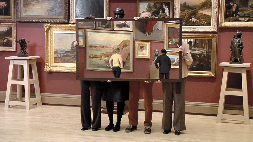 Mirroring the Musée