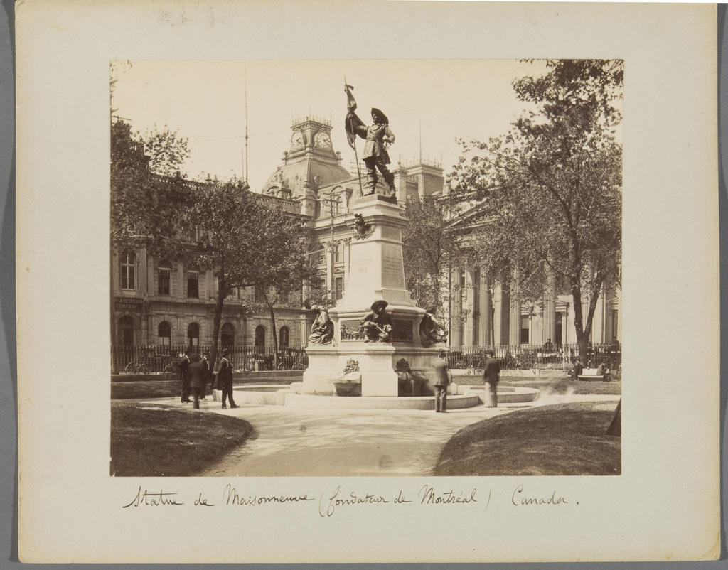 Monument à Maisonneuve, Montréal