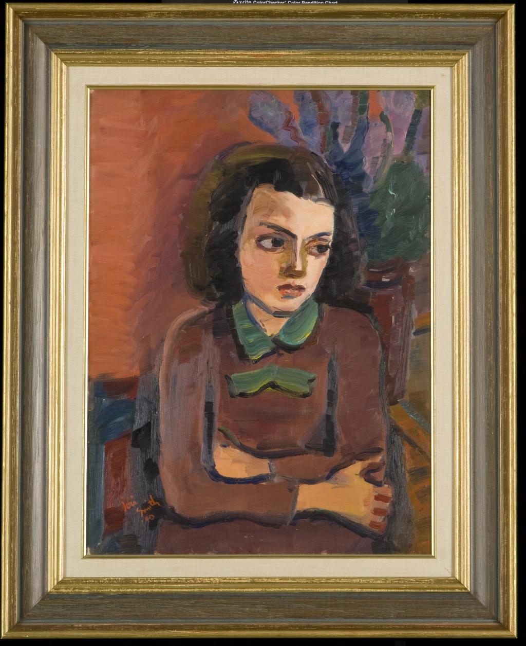 Thérèse aux lilas